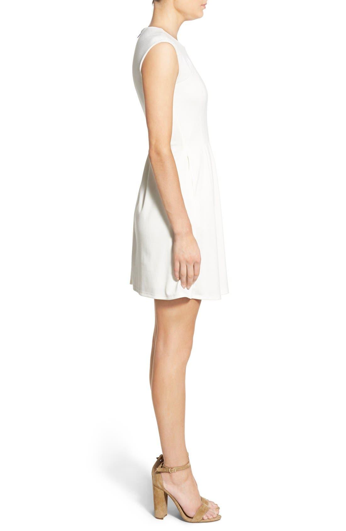 Alternate Image 3  - Speechless Cap Sleeve Skater Dress