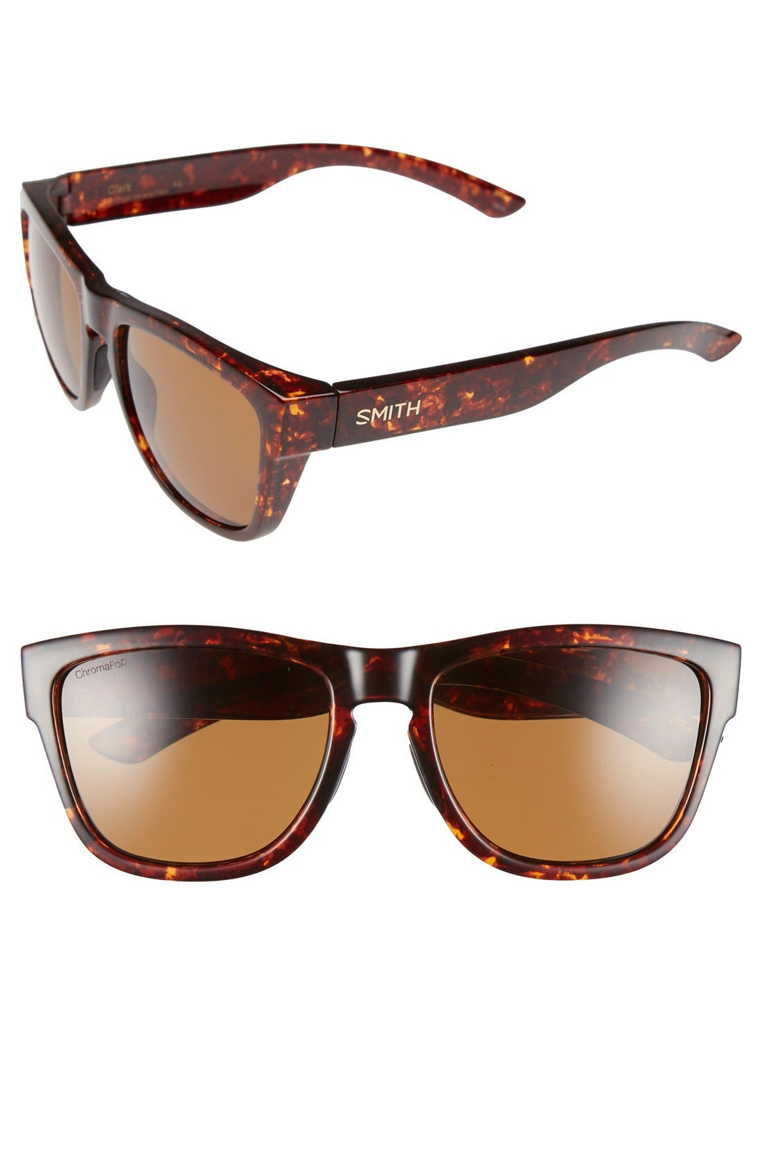 Smith 'Clark' 54mm Polarized Sunglasses