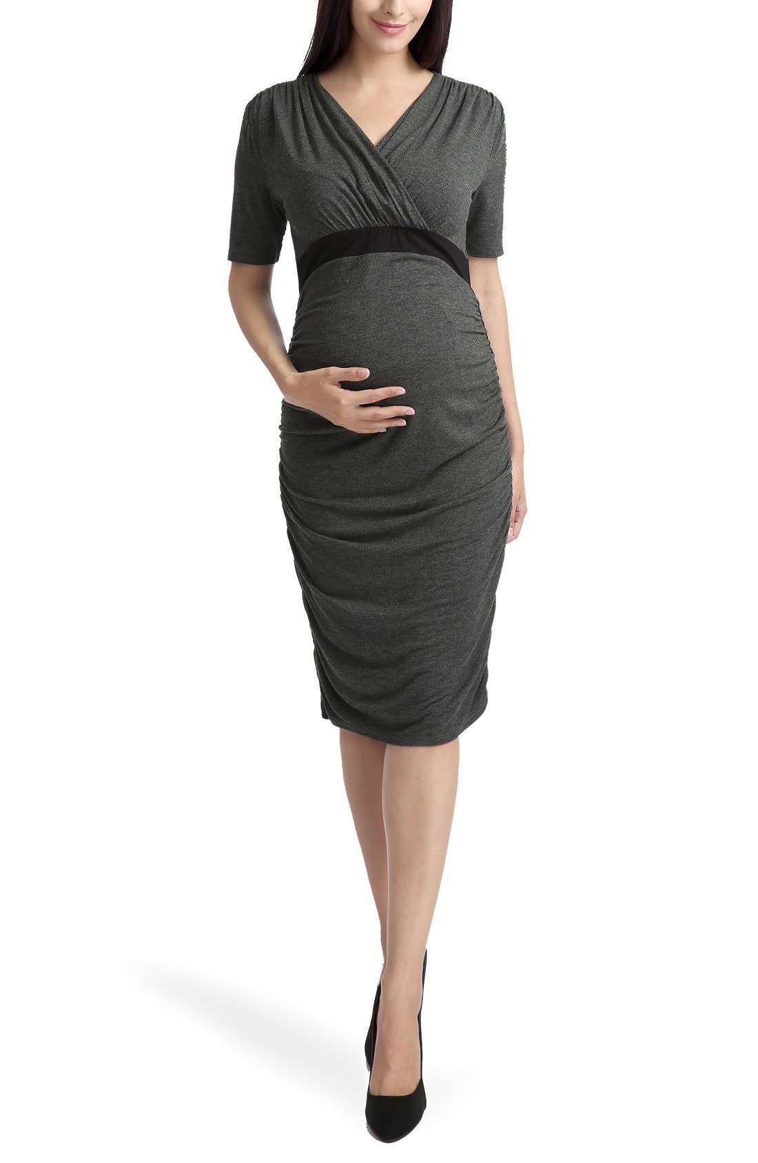 KIMI AND KAI 'Lydia' Maternity Dress