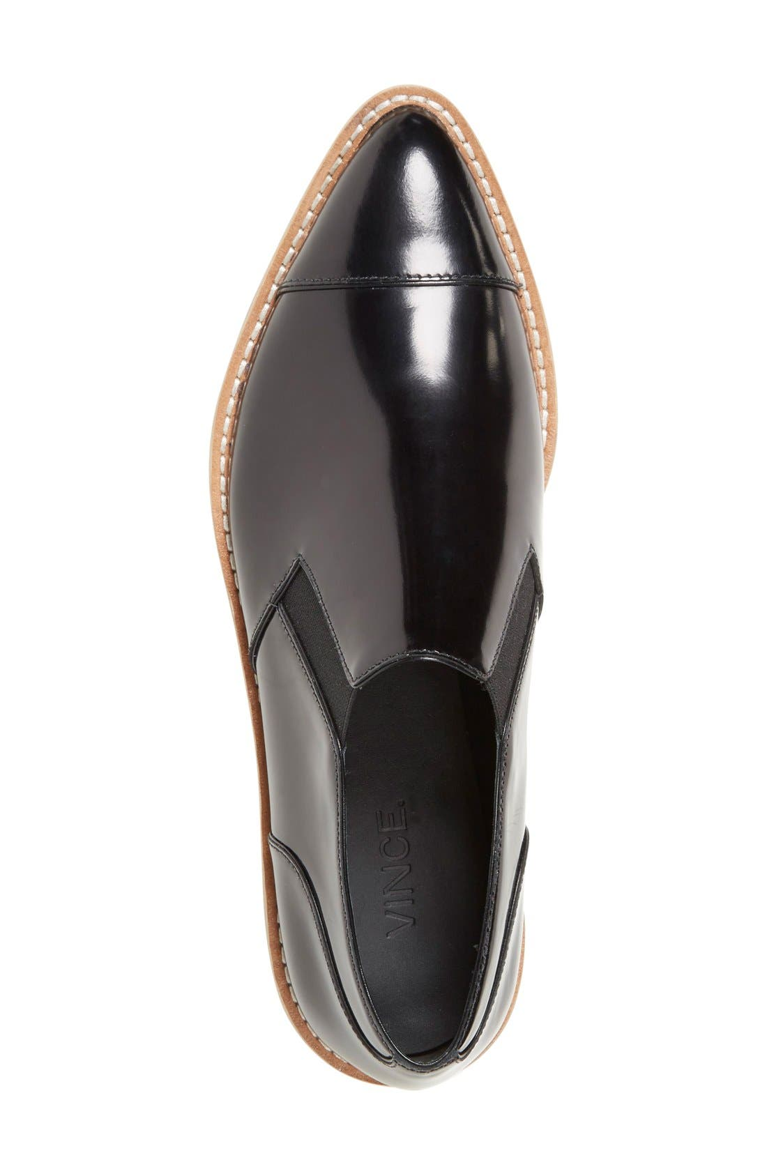 Alternate Image 3  - Vince 'Alona' Slip-On Almond Toe Oxford (Women)