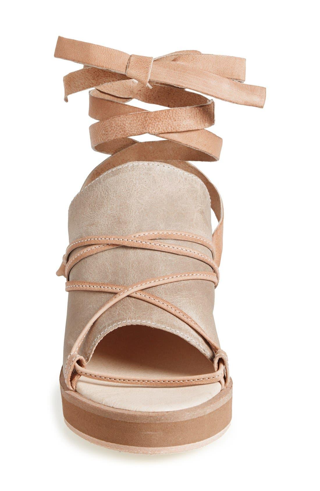 Alternate Image 3  - Free People 'Bowery' Ankle Tie Wedge Sandal