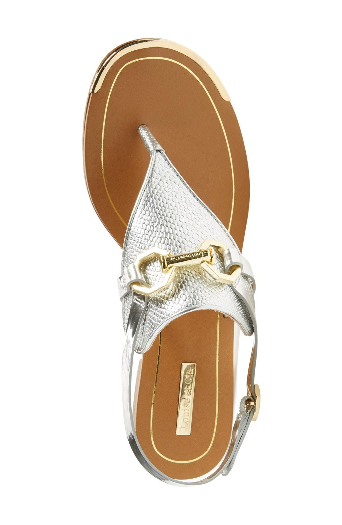 Alternate Image 3  - Louise et Cie 'Rissa' Flat Sandal (Women)