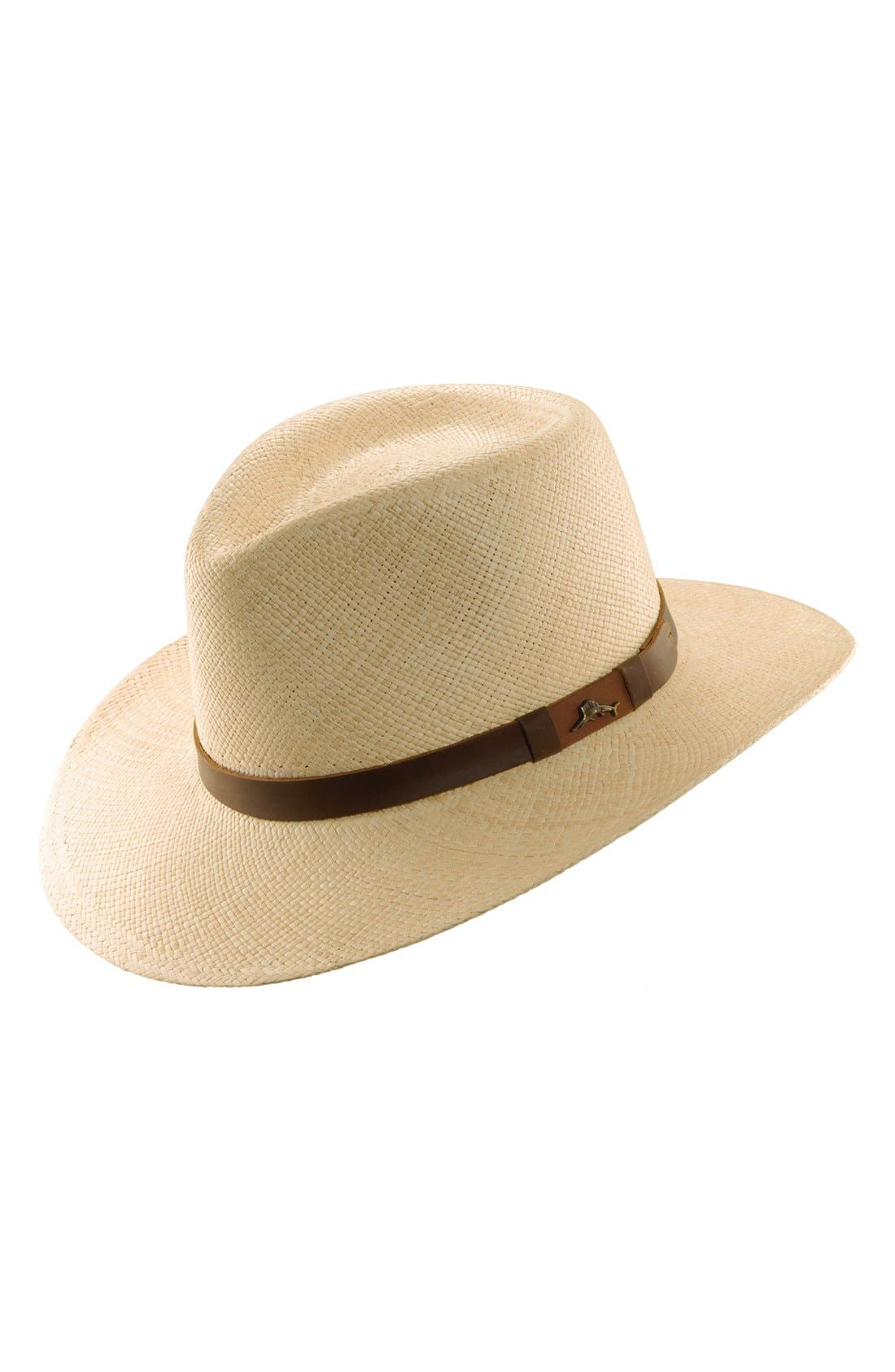 Tommy Bahama Panama Straw Outback Hat