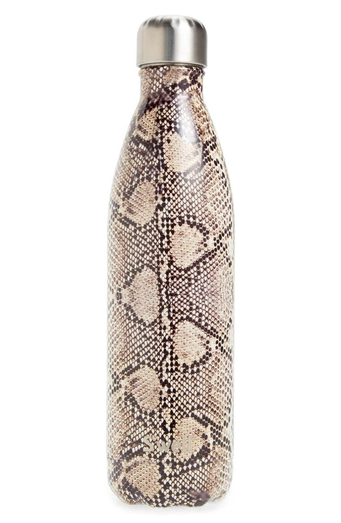 Alternate Image 1 Selected - S'well 'Exotics Collection - Sand Python' Stainless Steel Water Bottle