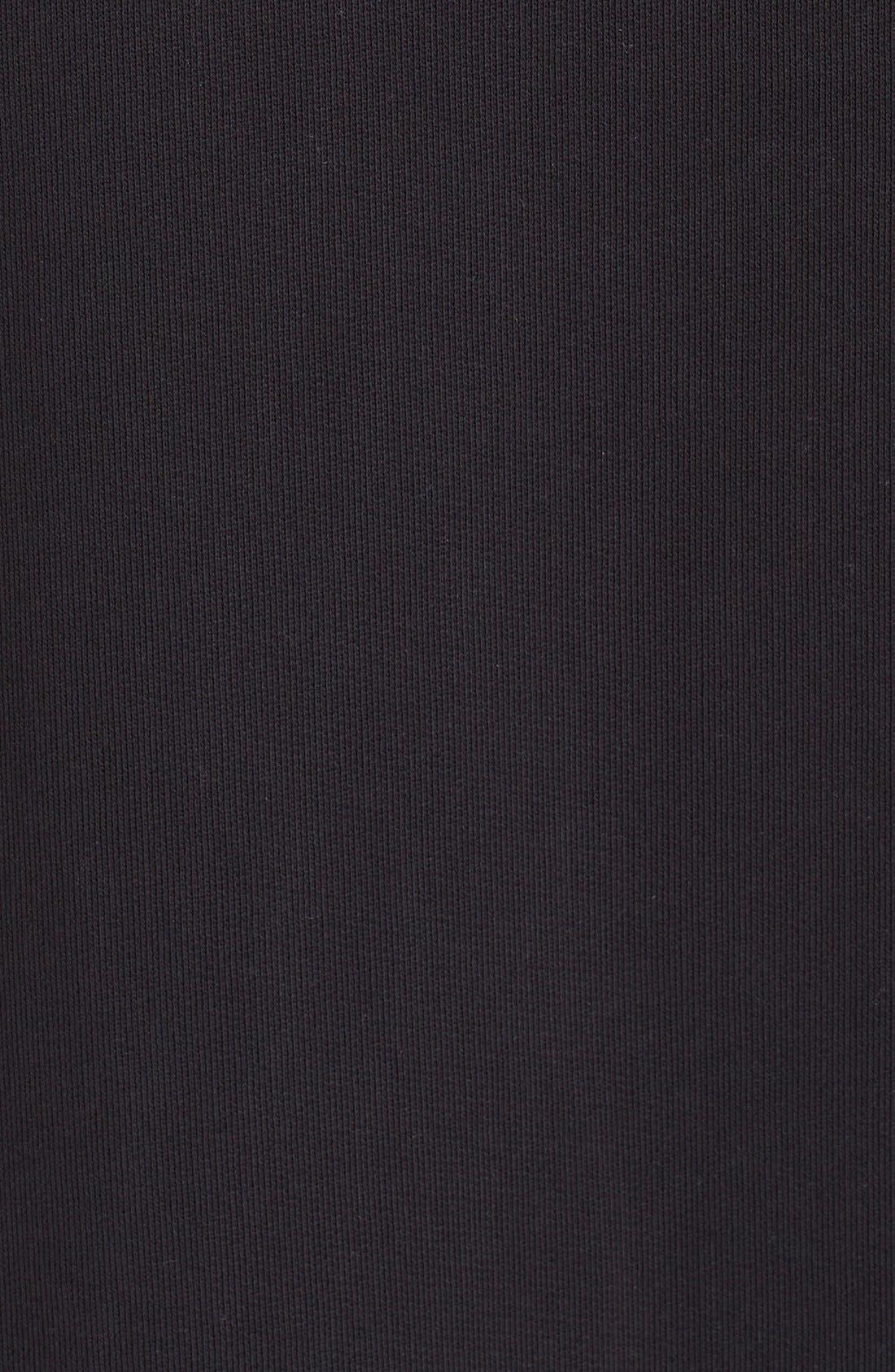 Alternate Image 5  - MM6 Maison Margiela Chiffon Hem Sweatshirt Dress