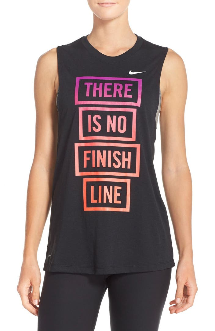 Nike There Is No Finish Line Muscle Tank Nordstrom