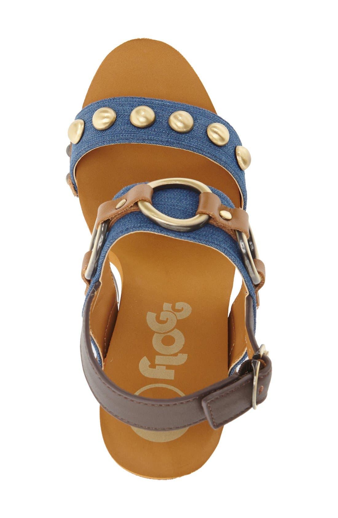 Alternate Image 3  - Flogg 'Entrada' Stud Harness Platform Sandal (Women)