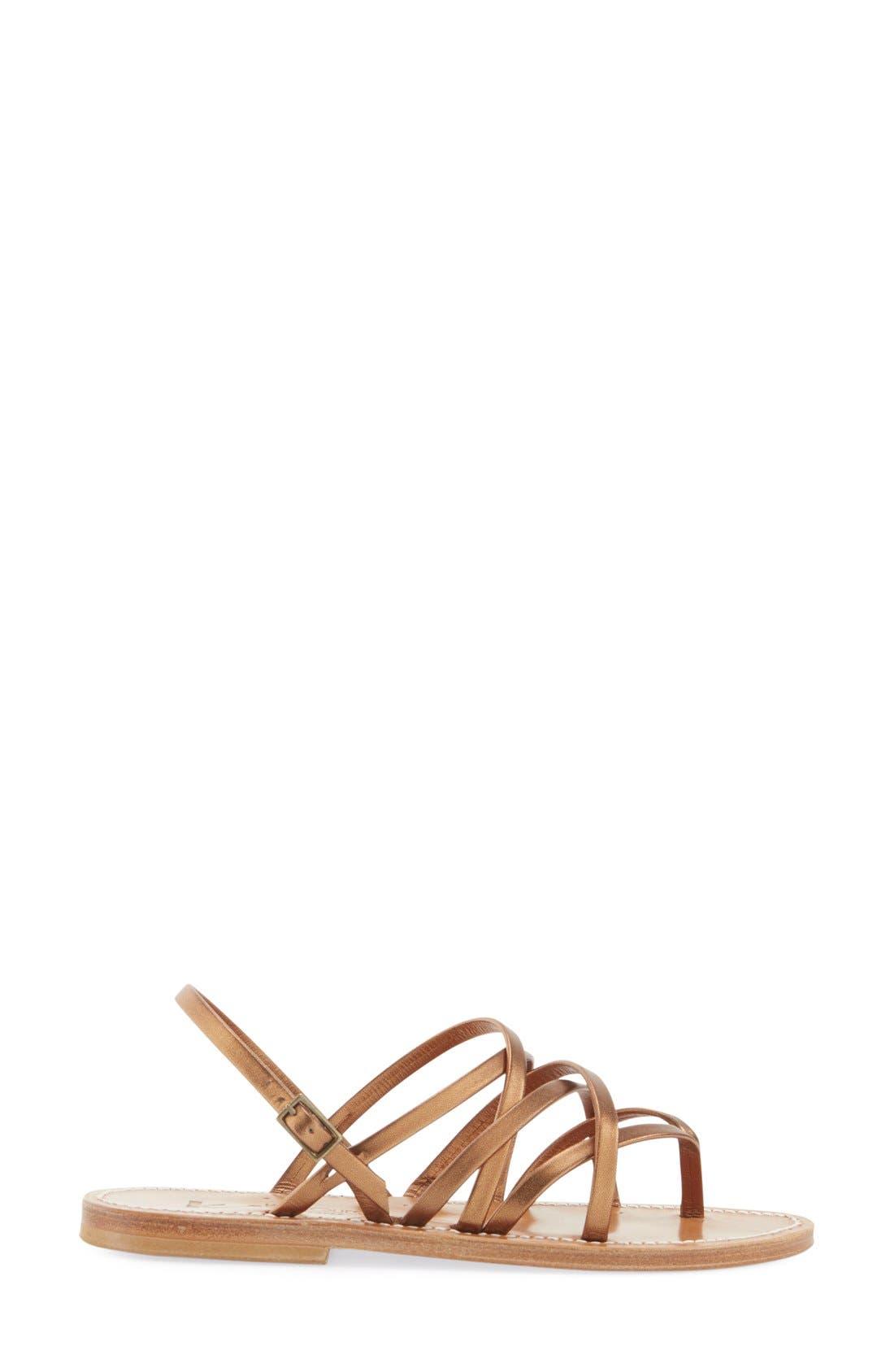 Alternate Image 4  - K.Jacques St. Tropez Strappy Flat Sandal (Women)