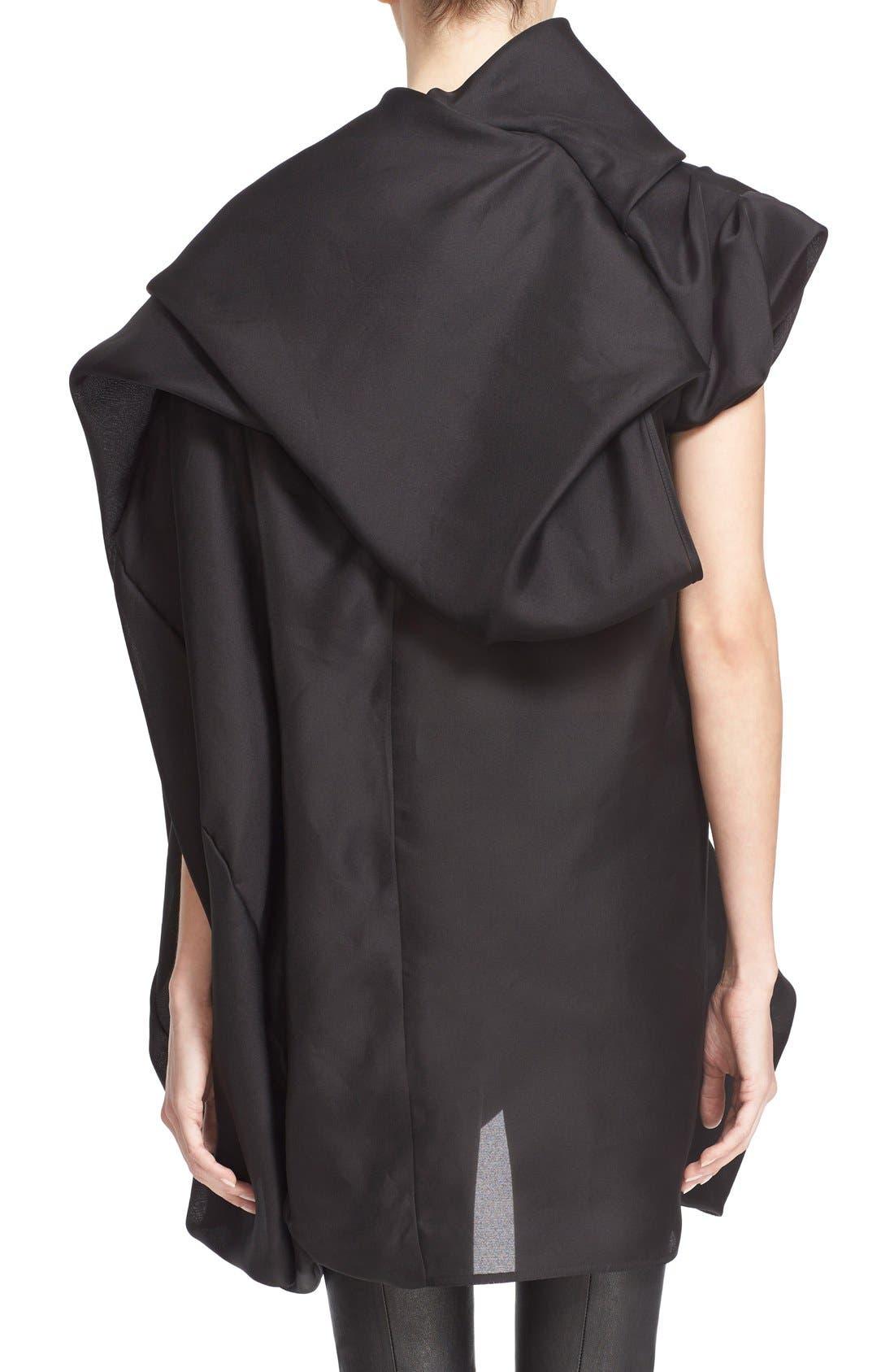 Alternate Image 3  - Rick Owens Draped Silk Tunic