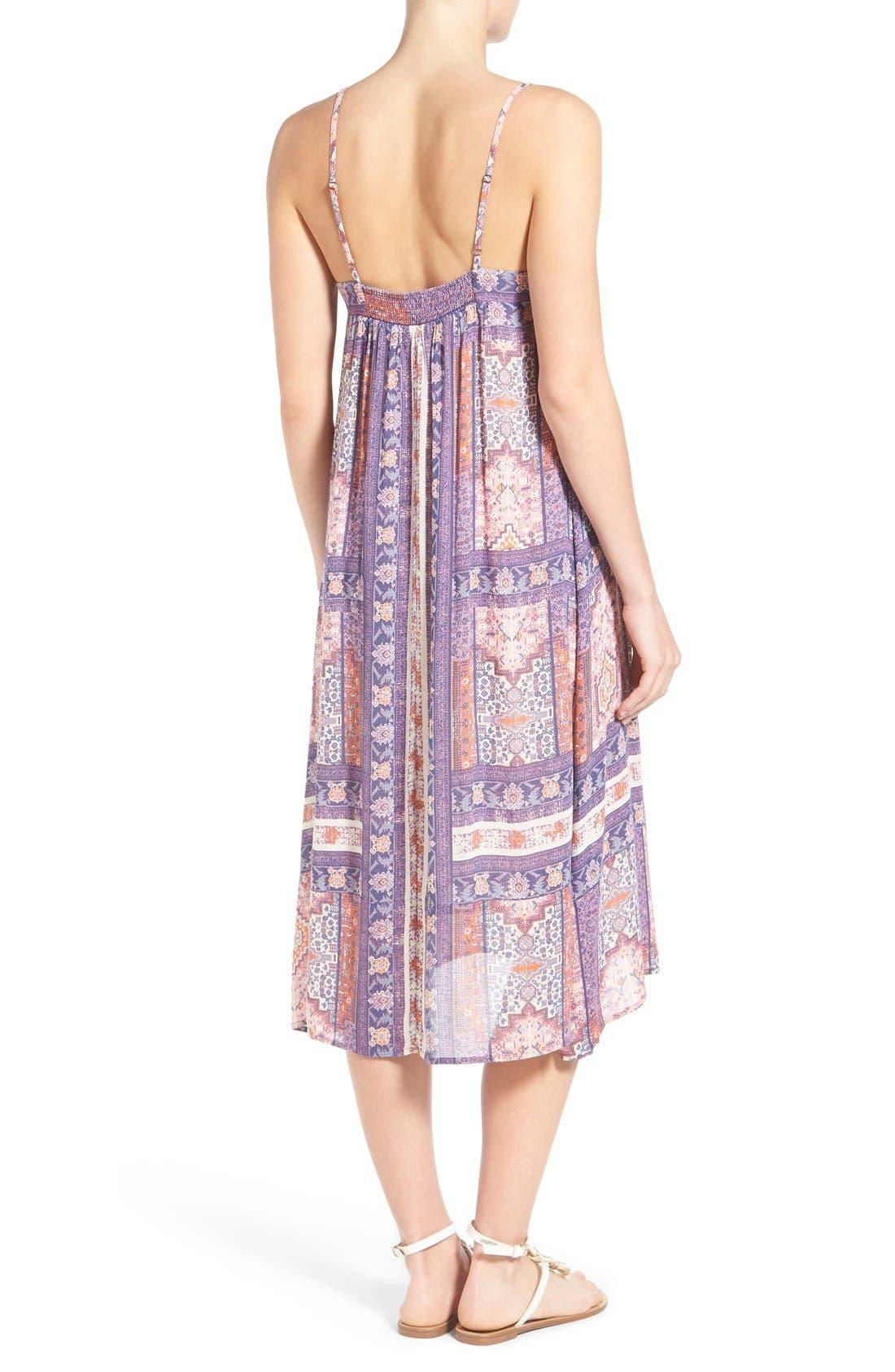 Alternate Image 2  - Lucky Brand Tapestry Print Sundress