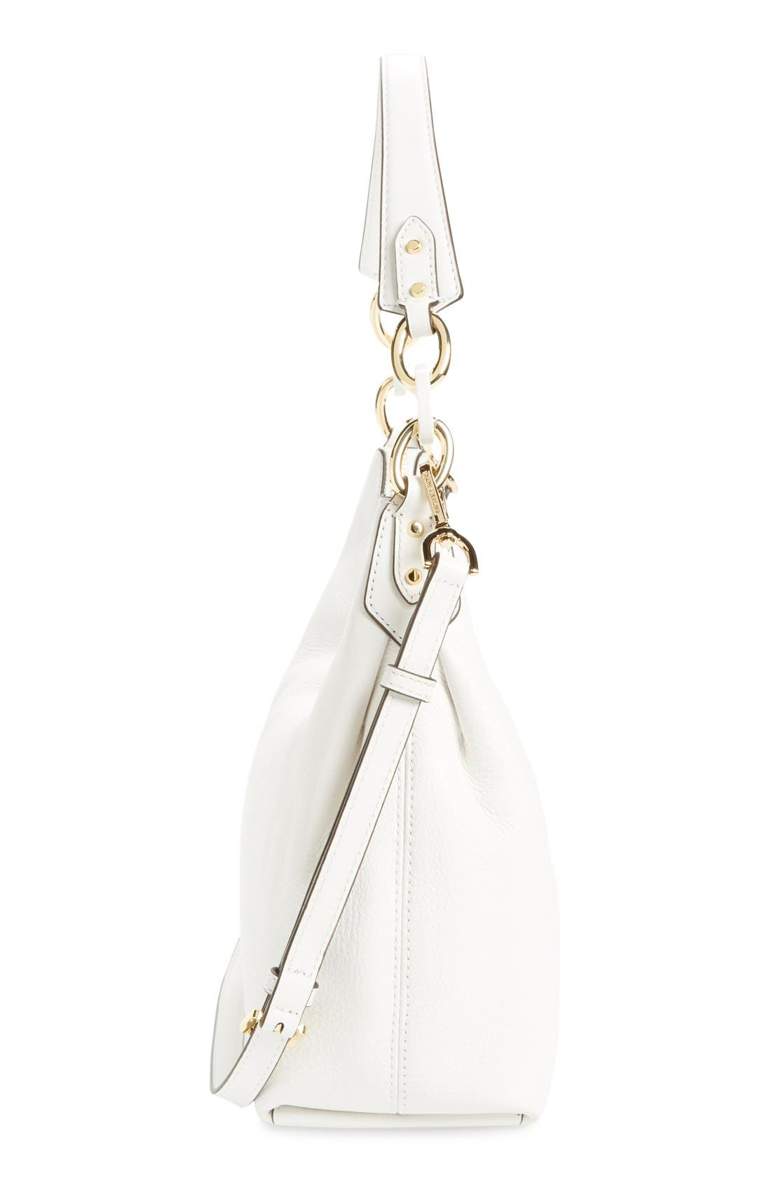 Alternate Image 5  - MICHAEL Michael Kors 'Medium Isabella' Convertible Leather Shoulder Bag
