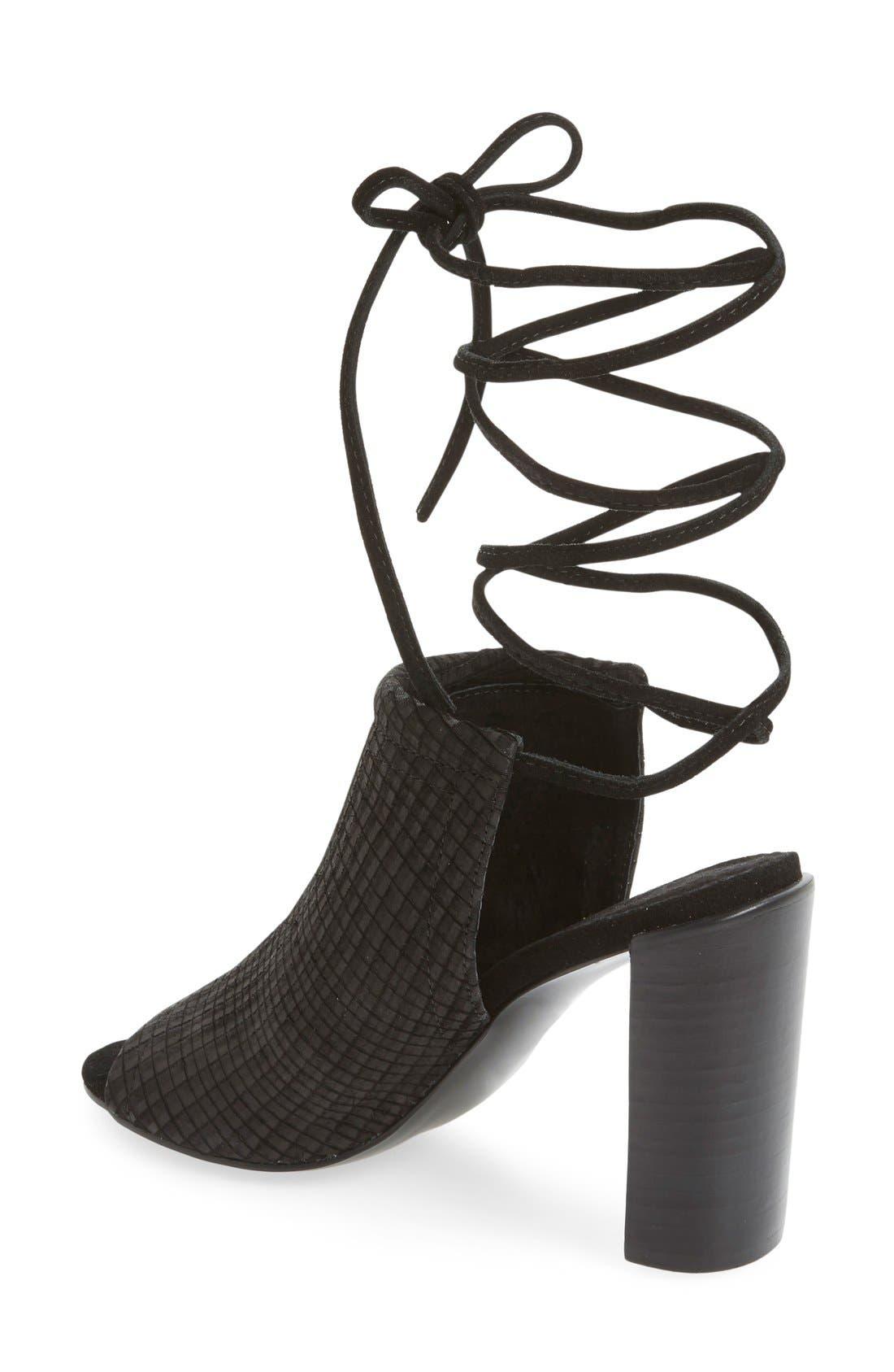 Alternate Image 2  - Urge Footwear 'Eve' Lace-Up Mule Sandal (Women)