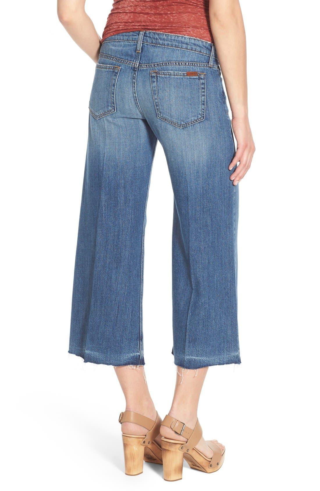 Alternate Image 2  - Joe's 'The Gaucho' Crop Flare Jeans (Edie)