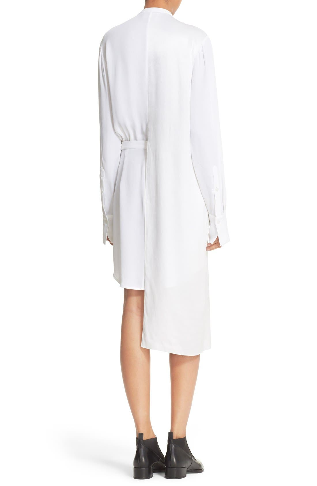 Alternate Image 2  - DKNY Panel Overlay Woven Shirtdress