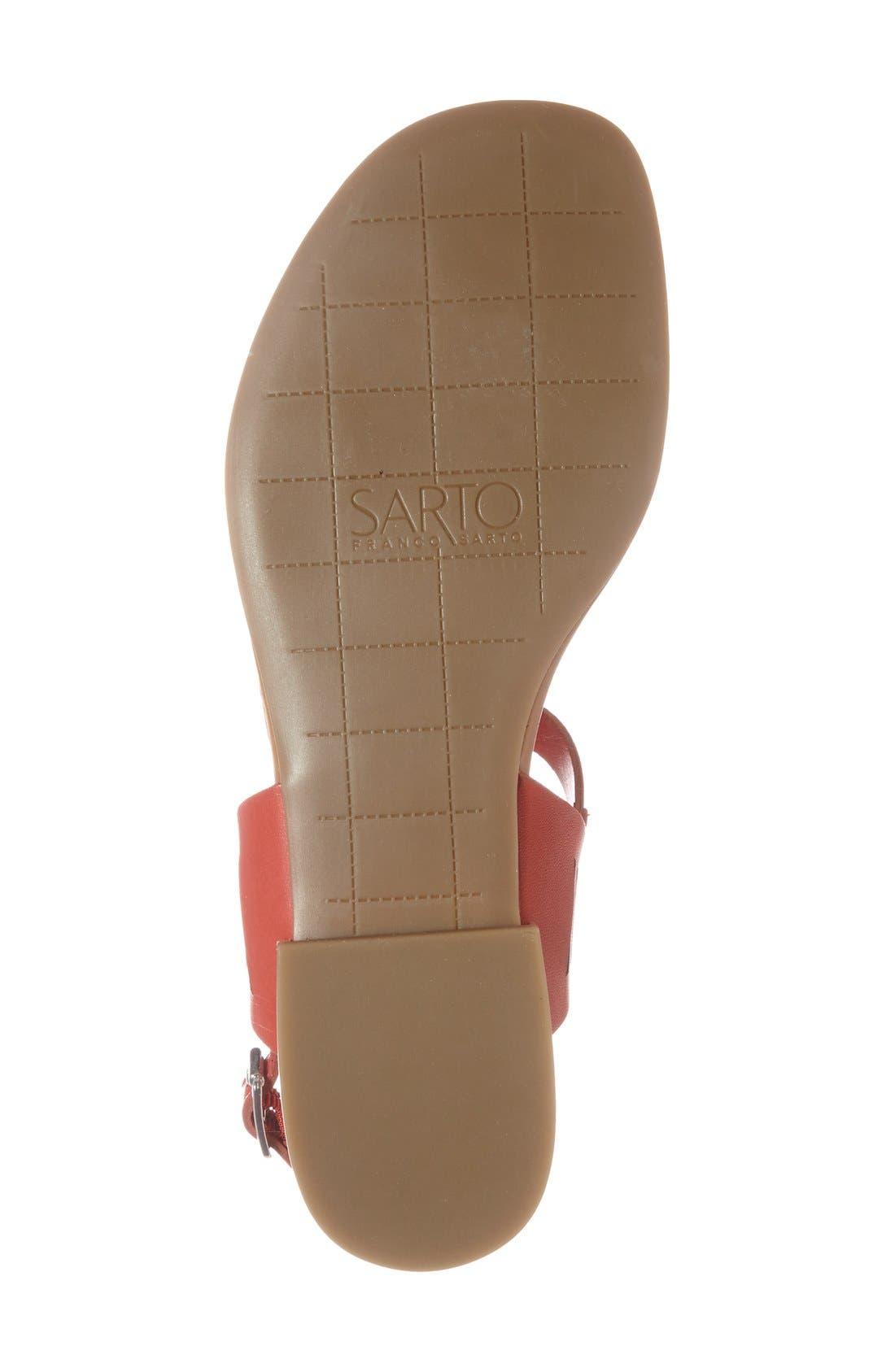 Alternate Image 7  - SARTO by Franco Sarto 'Sarita' Thong Sandal (Women)