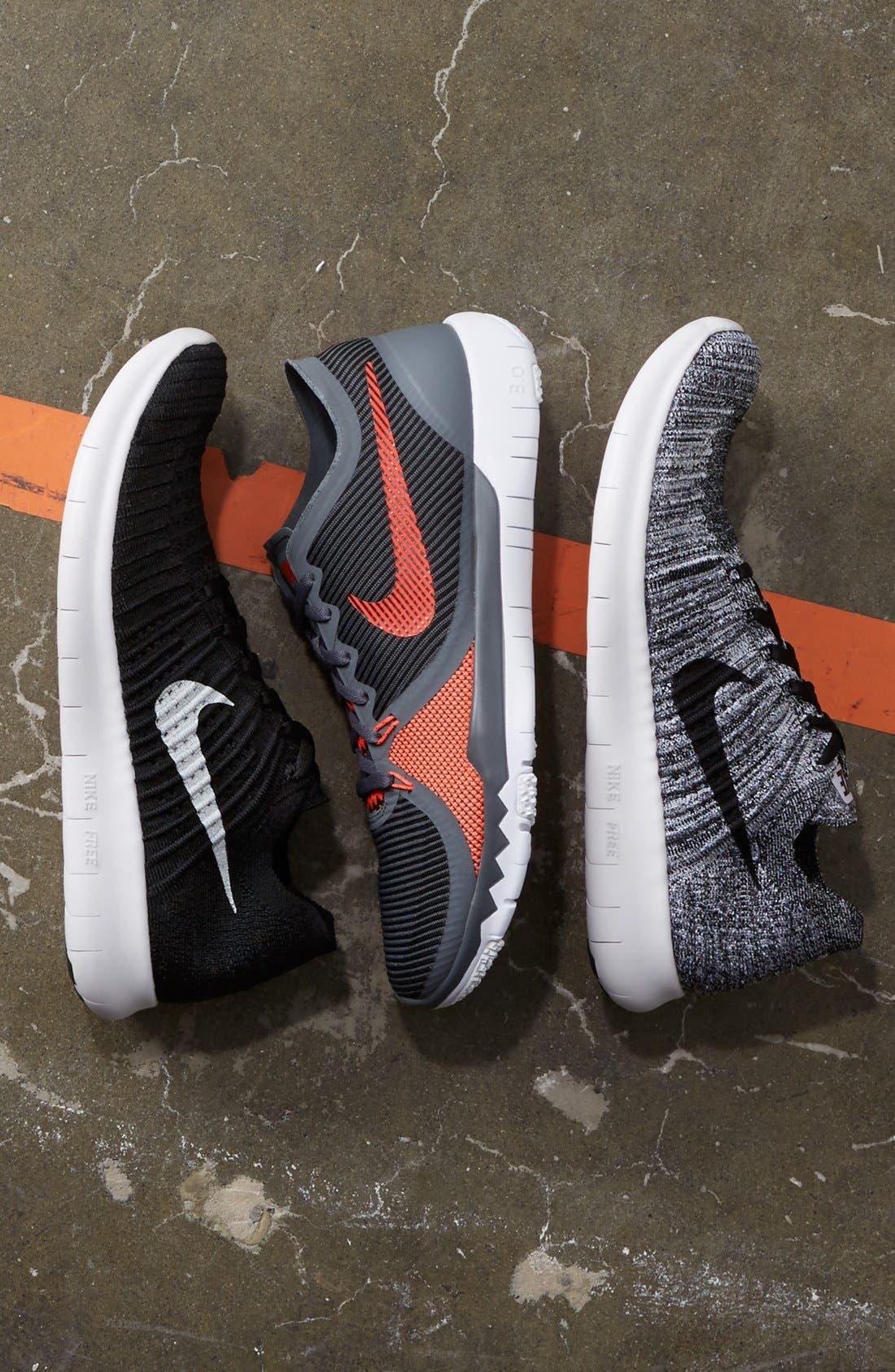 Alternate Image 5  - Nike 'Free Run Flyknit' Running Shoe (Men)