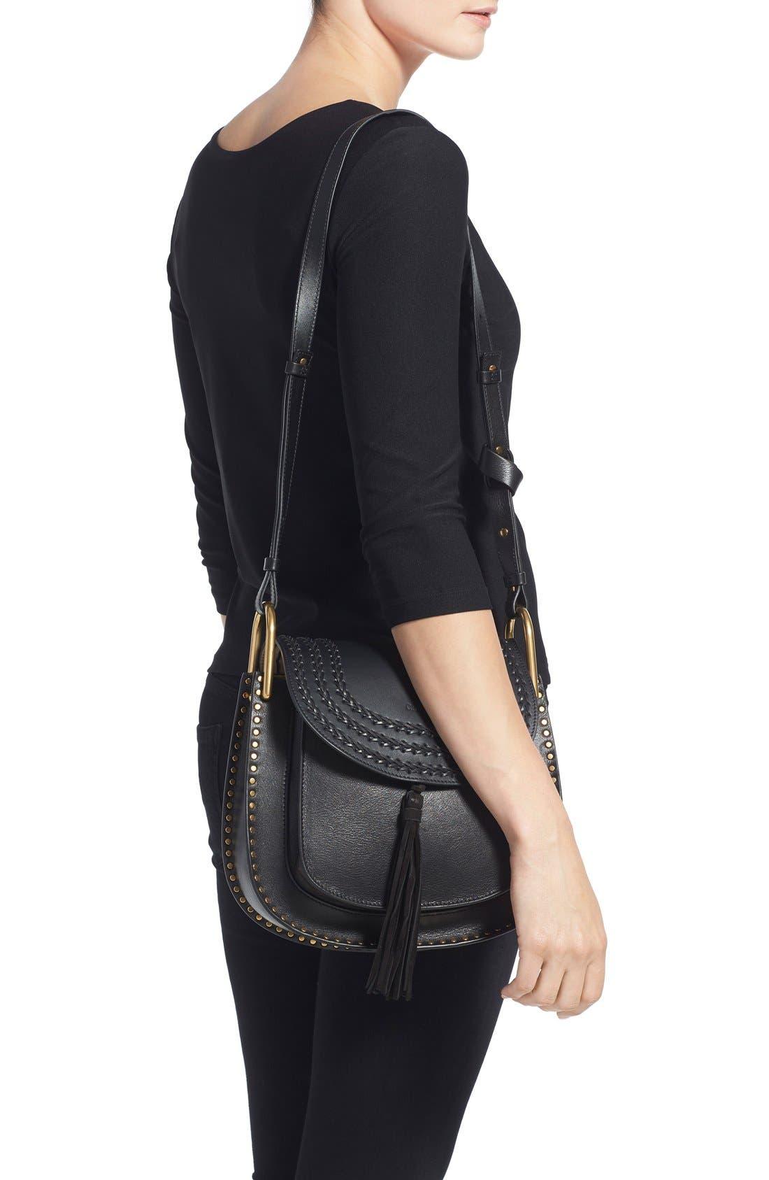 Alternate Image 2  - Chloé 'Medium Hudson' Tassel Leather Shoulder Bag