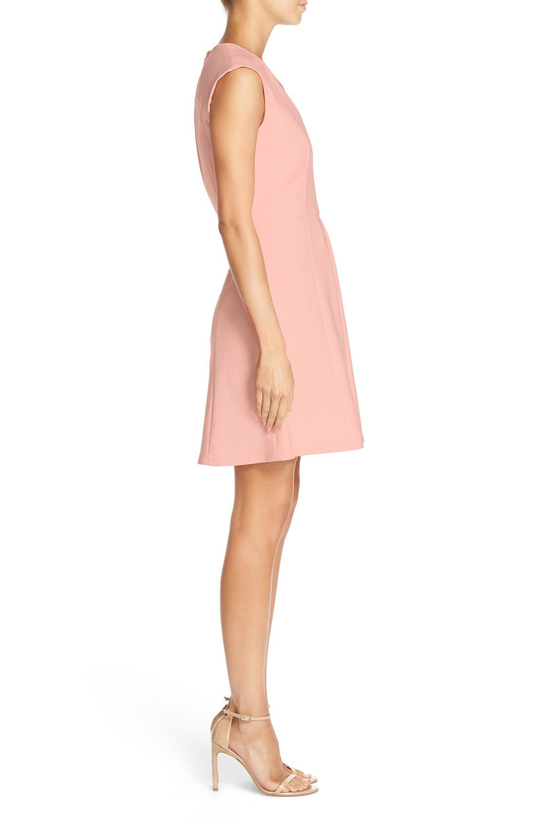 Alternate Image 2  - French Connection 'Capri' Seamed Fit & Flare Dress