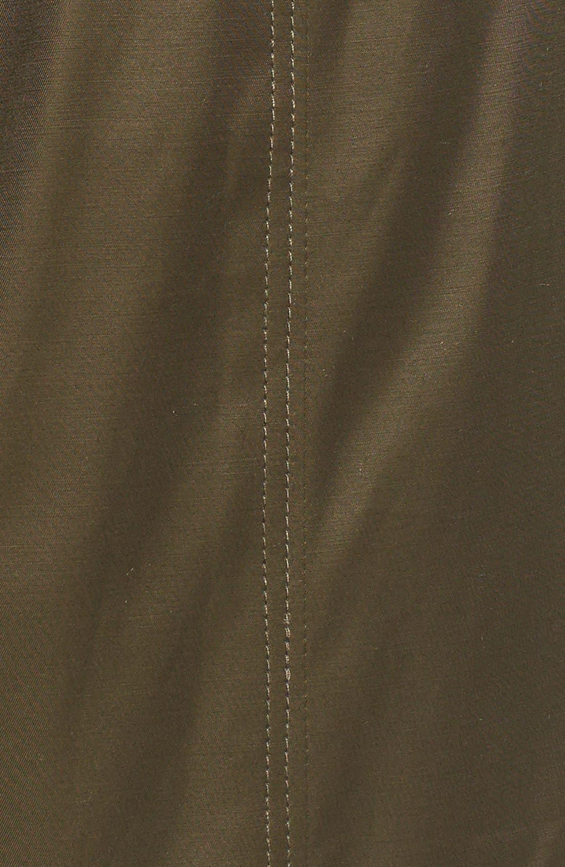 Alternate Image 5  - Betsey Johnson Faux Fur Trim Parka