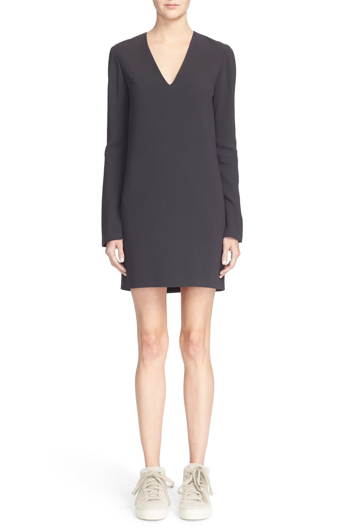 Alternate Image 1 Selected - Helmut Lang V-Neck Dress