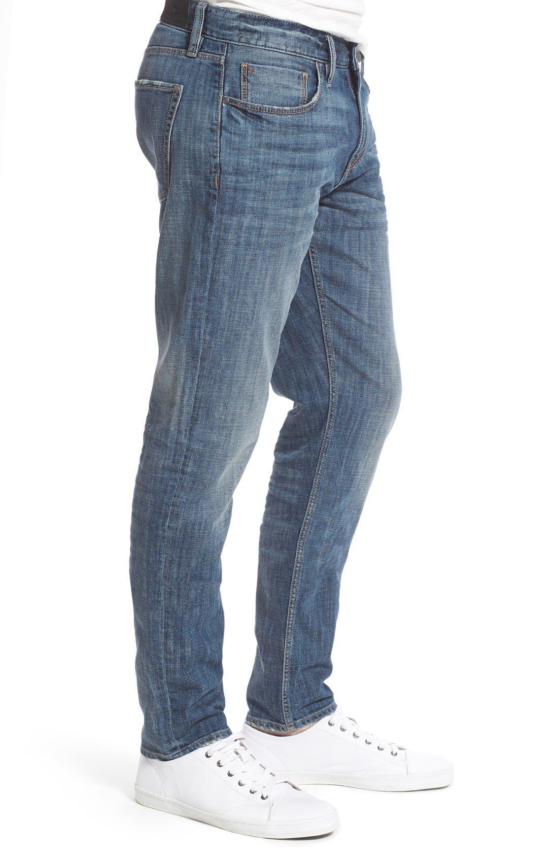 Alternate Image 3  - Treasure&Bond Slim Fit Jeans (Medium Twilight Wash)
