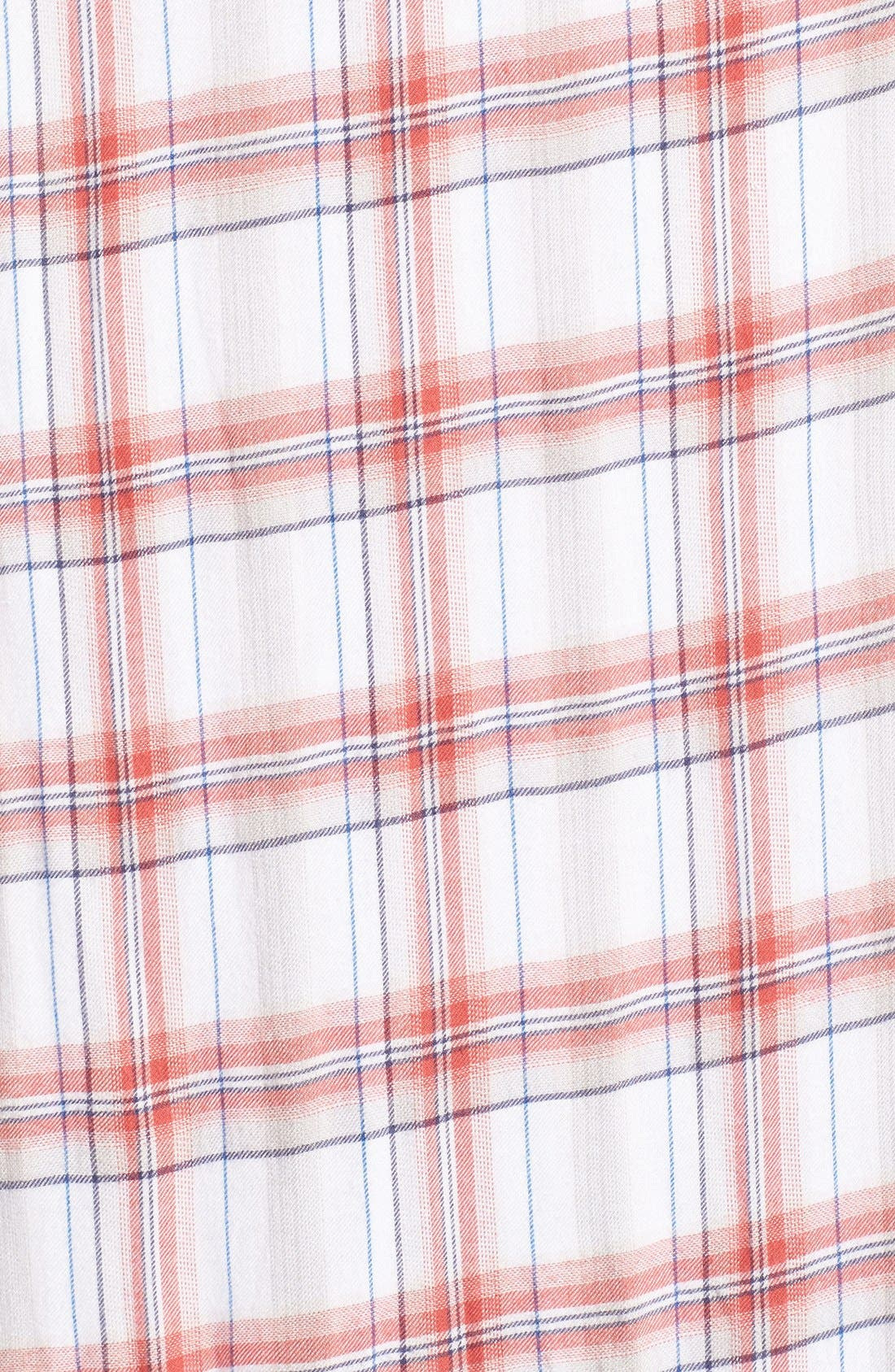 Alternate Image 5  - Treasure&Bond Drapey Plaid Duster
