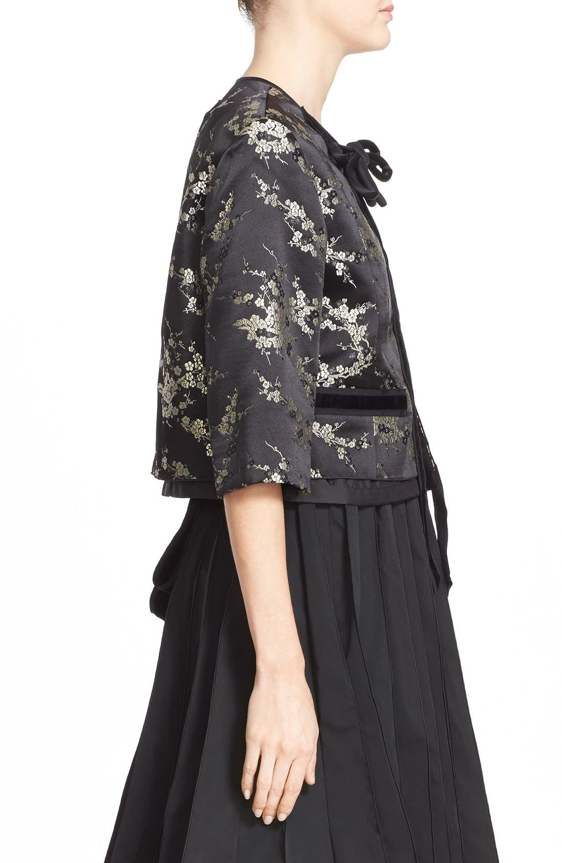 Alternate Image 4  - MARC JACOBS Cherry Blossom Jacquard Jacket