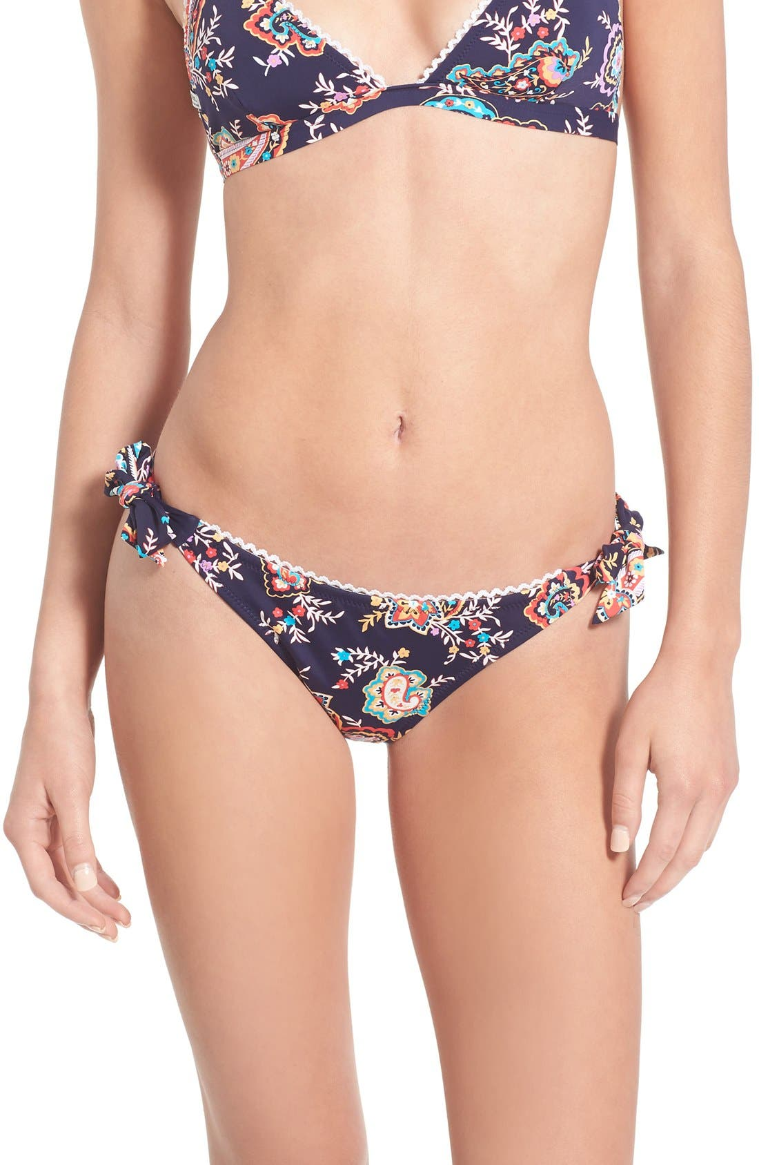 Alternate Image 2  - Rhythm 'Boheme' Paisley Cheeky Bikini Bottoms