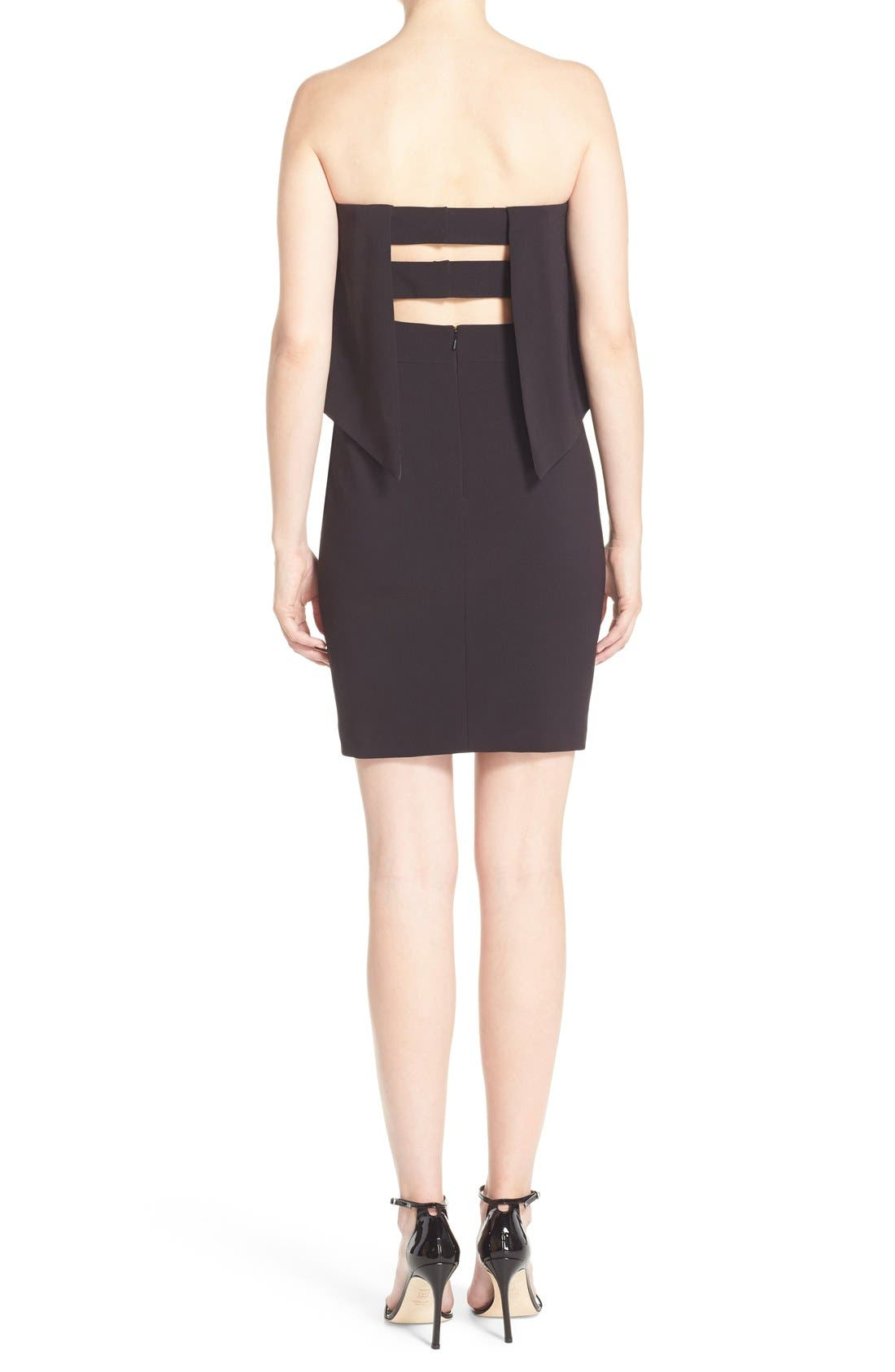 Alternate Image 2  - Jay Godfrey 'Viola' Strapless Popover Sheath Dress