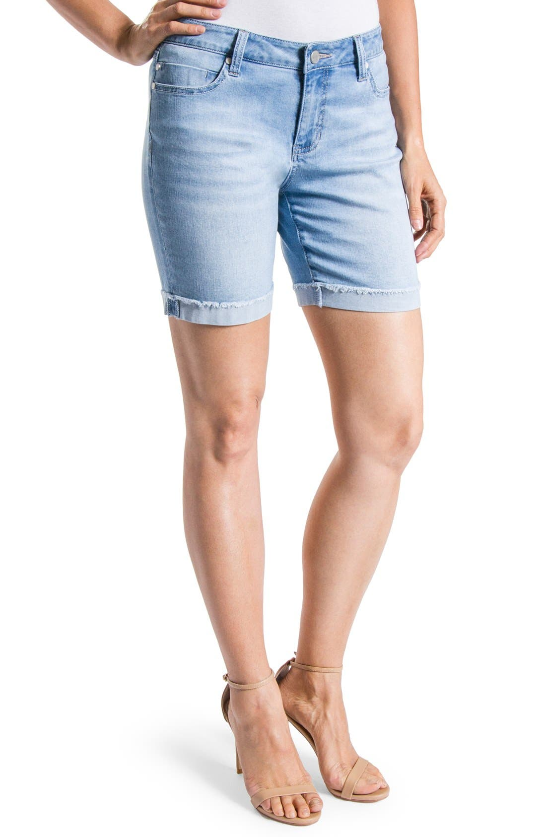 Alternate Image 1 Selected - Liverpool Jeans Company 'Corine' Denim Shorts