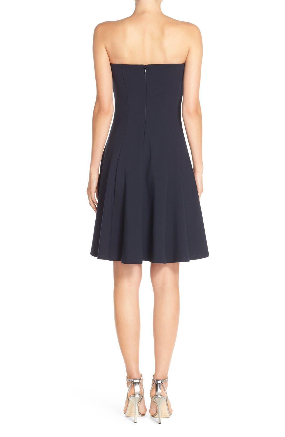 Alternate Image 2  - Felicity & Coco Strapless Fit & Flare Dress (Nordstrom Exclusive)