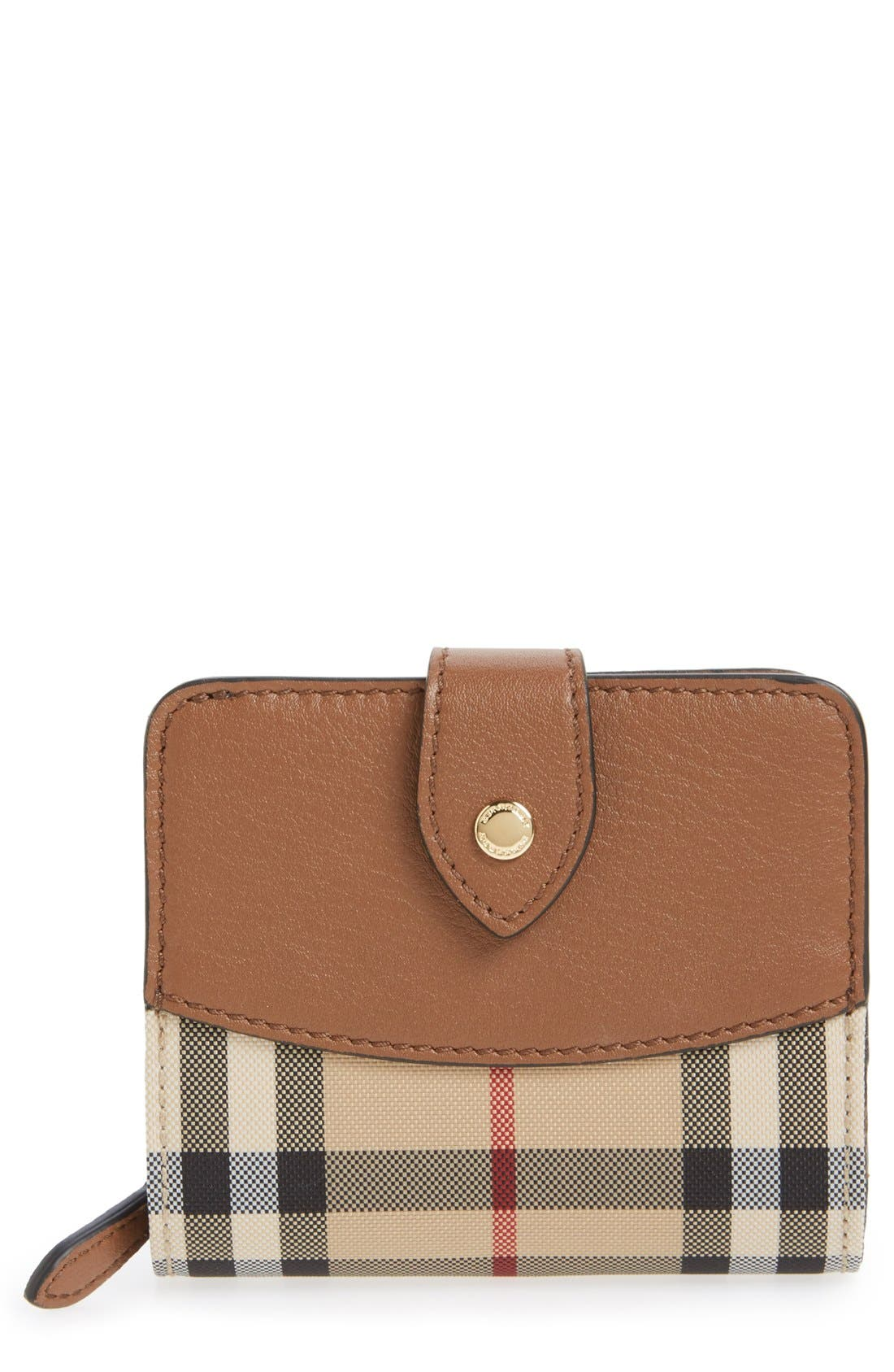 Burberry 'Finsbury' Horseferry Check Wallet