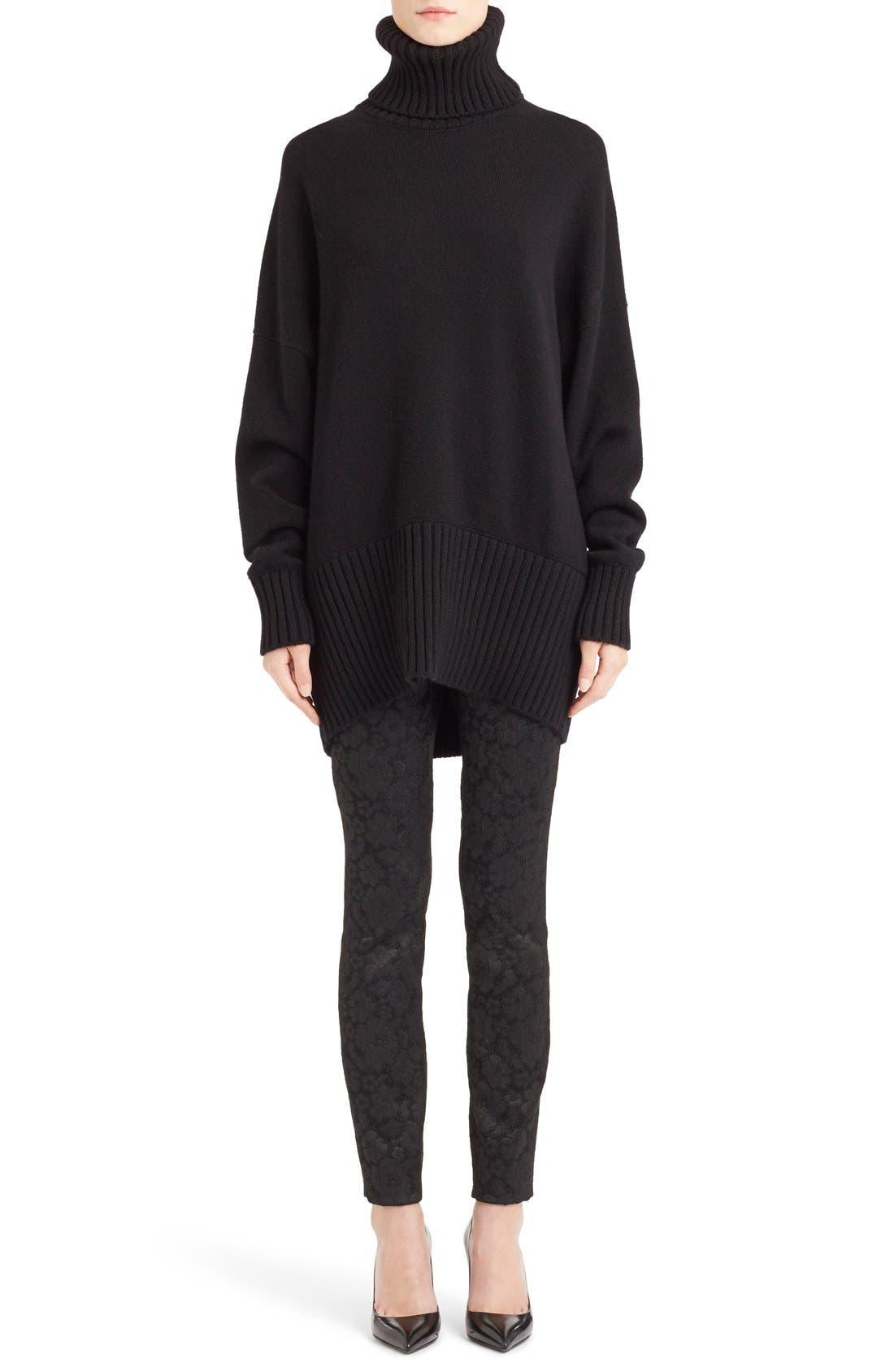 Alternate Image 1 Selected - Dolce&Gabbana Turtleneck Cashmere Sweater