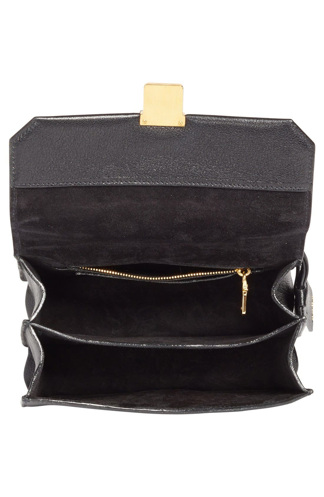 Alternate Image 4  - Miu Miu 'Small Madras' Goatskin Leather Shoulder Bag