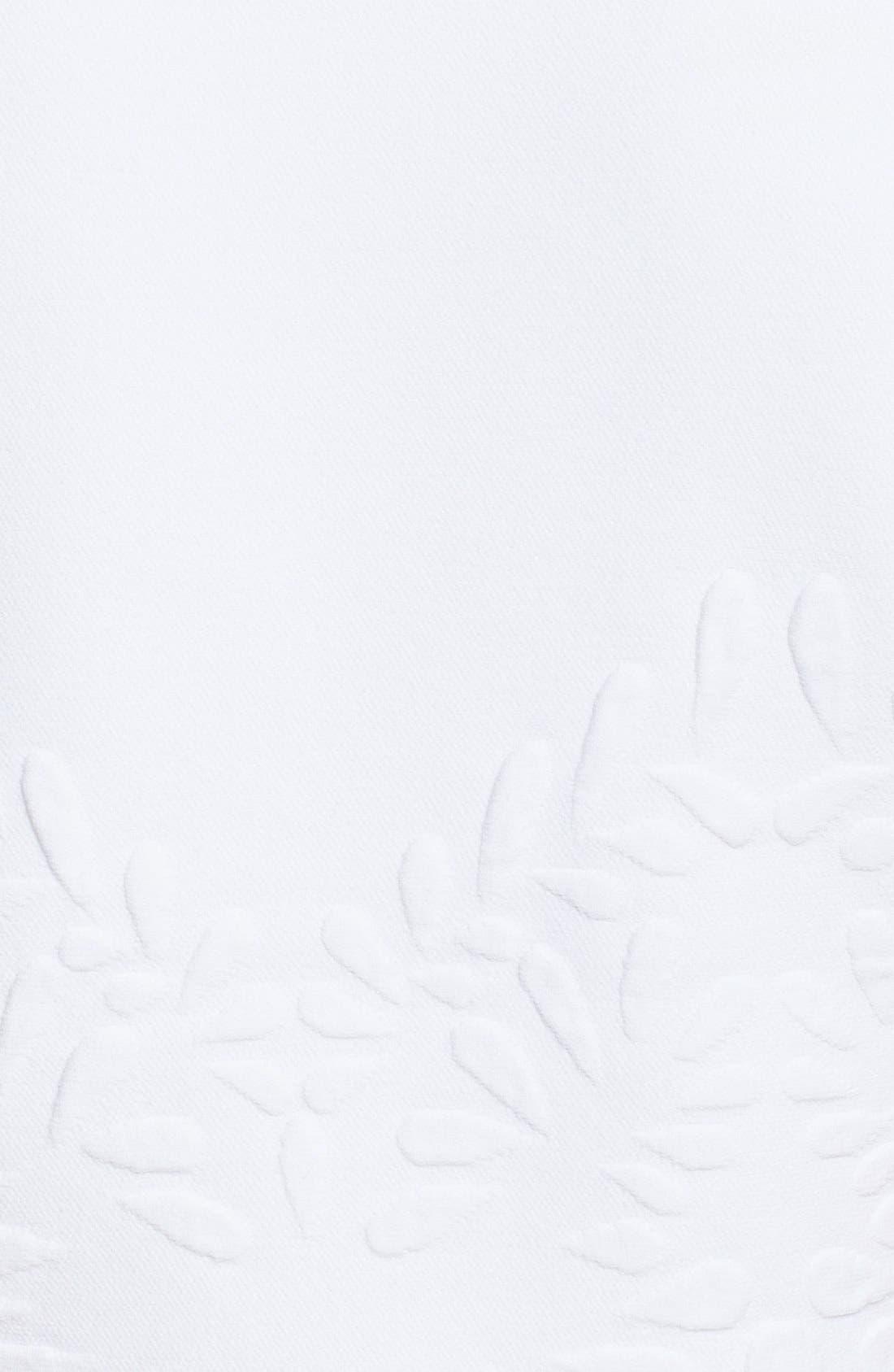 Alternate Image 3  - Alexander McQueen Embossed Jacquard Knit Crop Top
