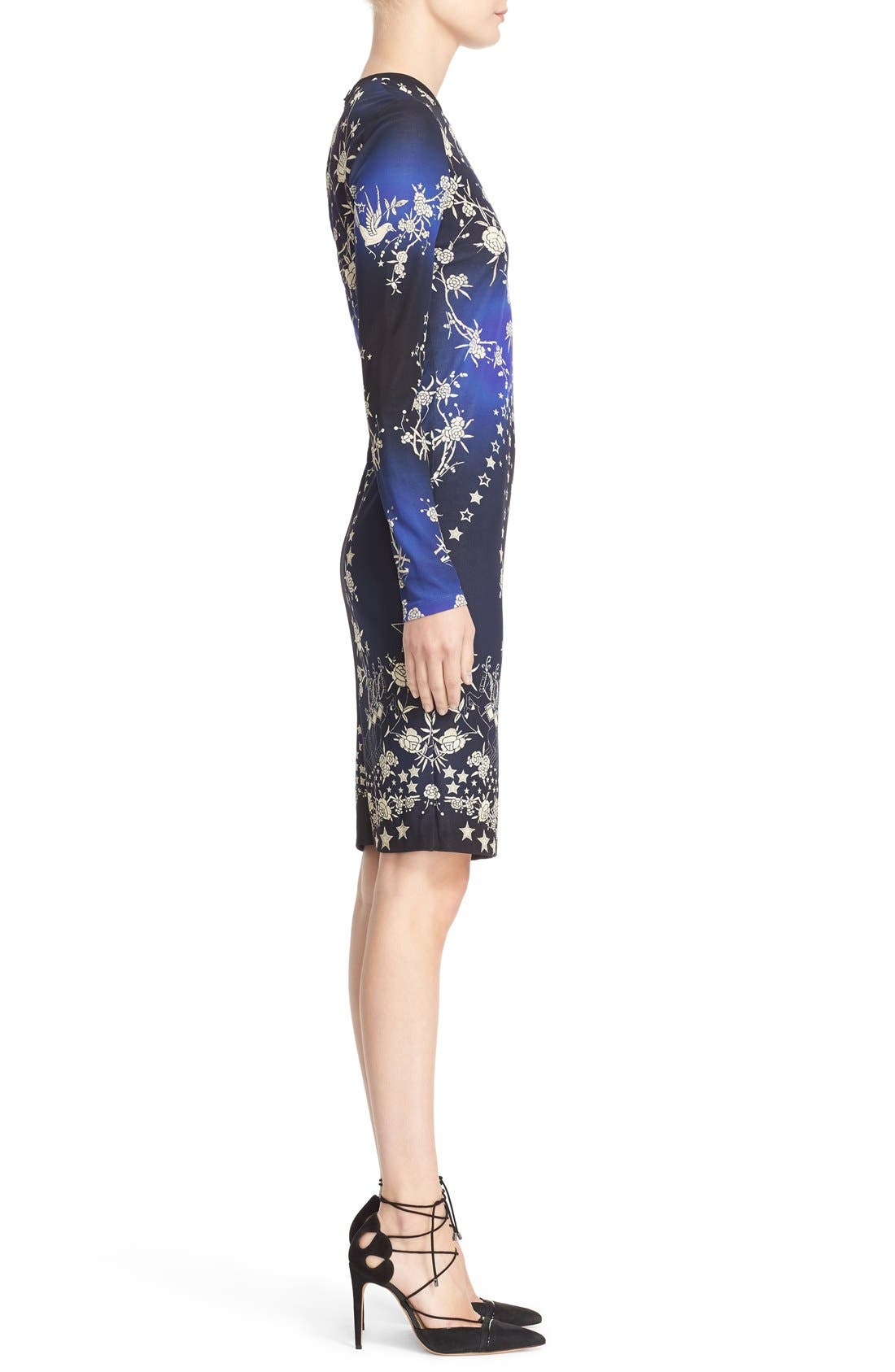 Alternate Image 4  - Roberto Cavalli 'Pretty Thing' Print Jersey Dress