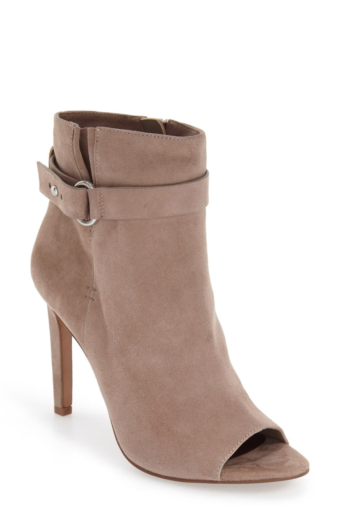 Alternate Image 1 Selected - BCBGeneration 'Carolena' Peep Toe Bootie (Women)