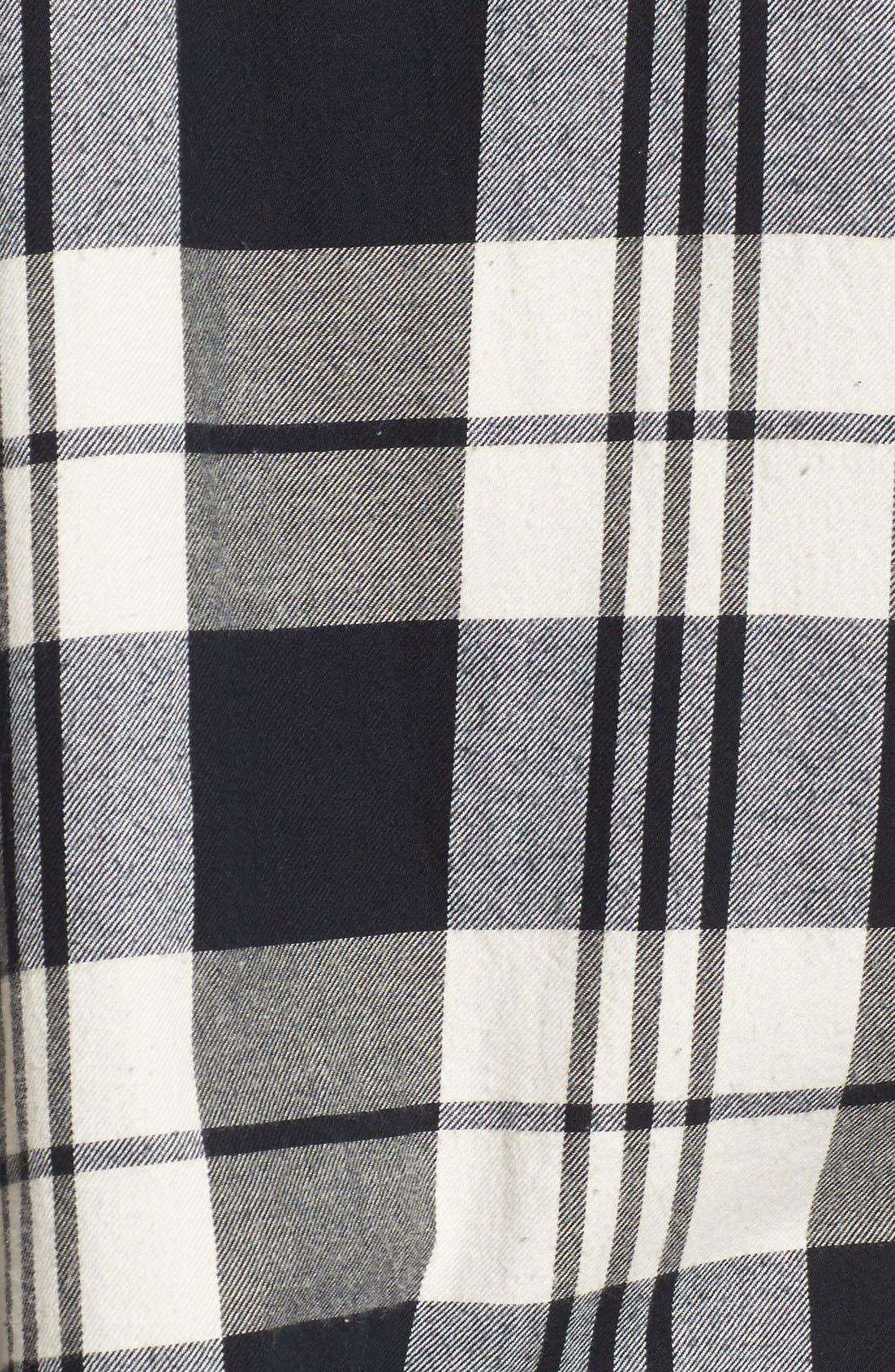 Alternate Image 5  - Madewell 'Ex Boyfriend' Plaid Oversize Cotton Shirt