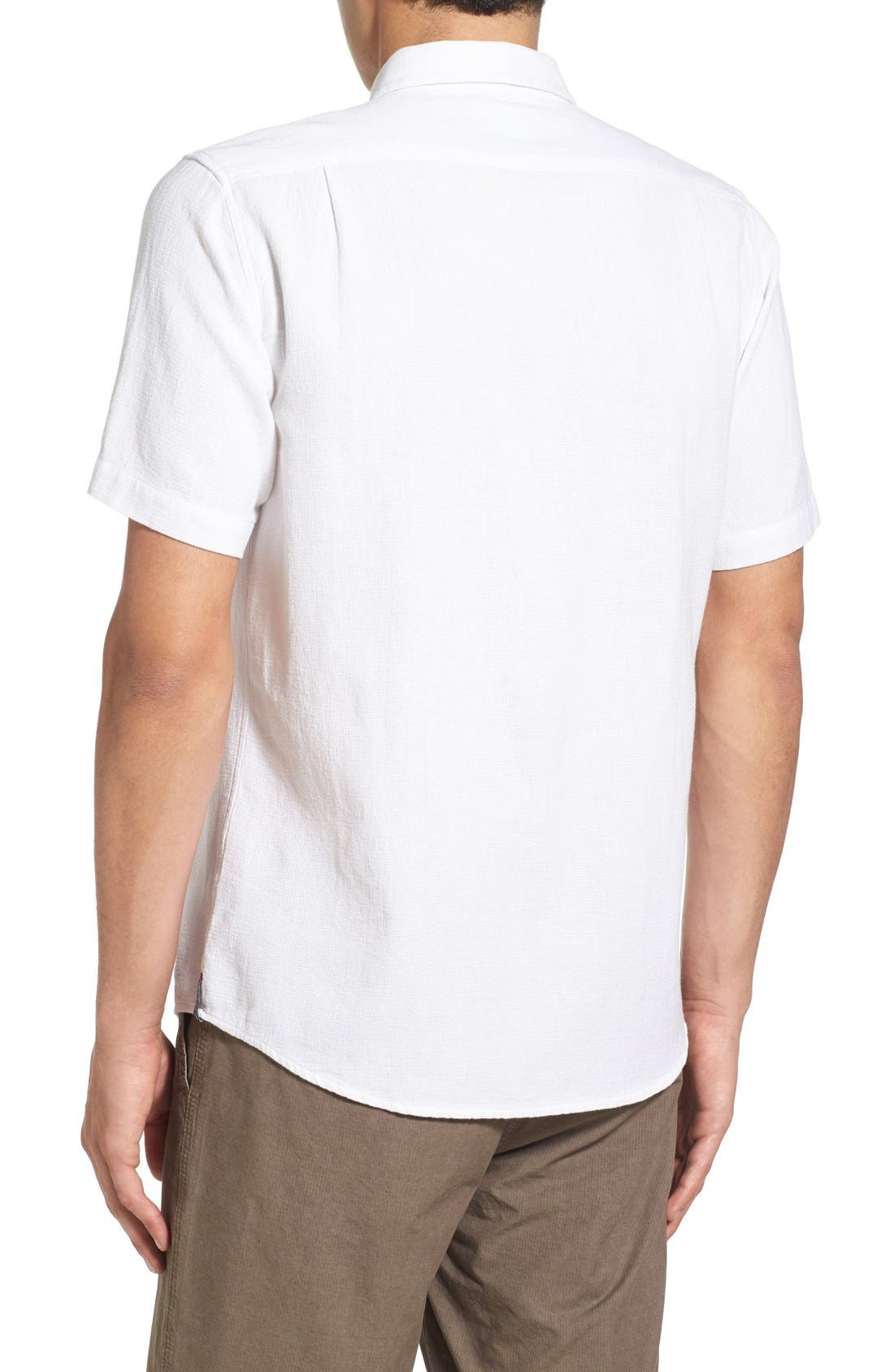 Alternate Image 2  - Ezekiel 'Highland' Regular Fit Short Sleeve Woven Shirt