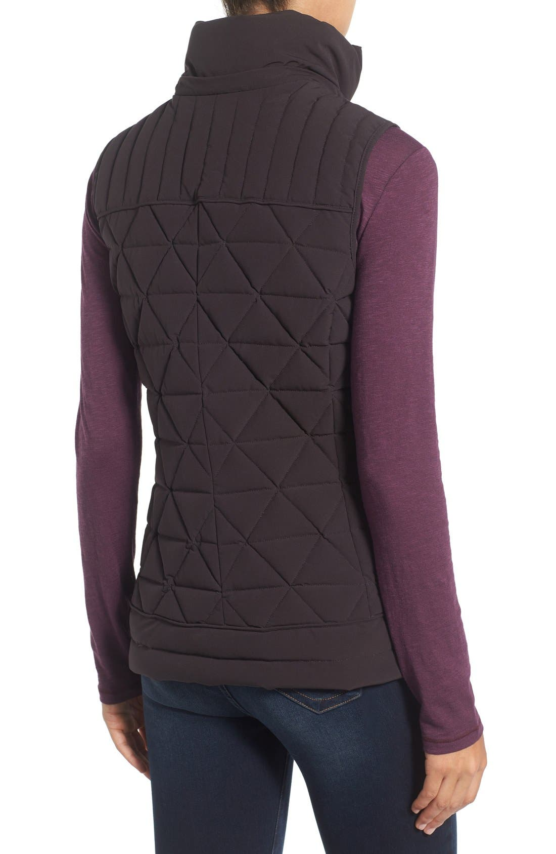 Alternate Image 2  - Marc New York by Andrew Marc 'Thea' Removable Faux Fur Collar Quilted Down Vest