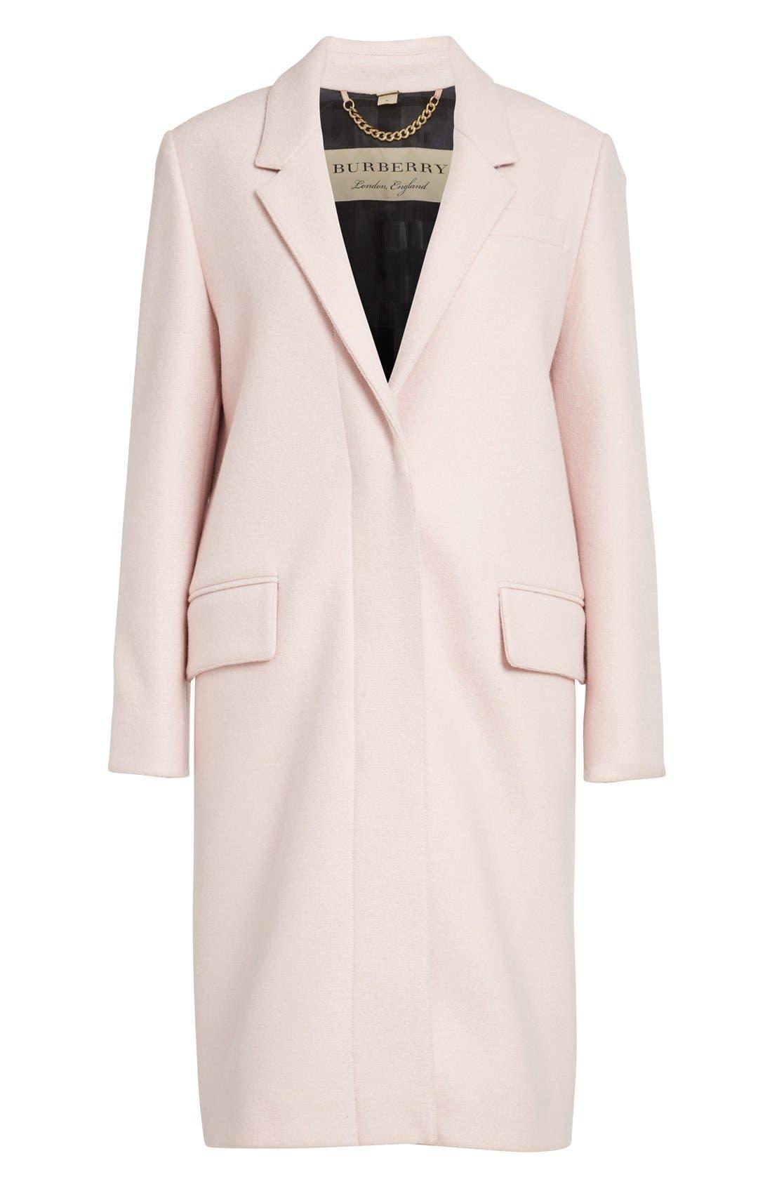Alternate Image 4  - Burberry Alphington Wool Coat