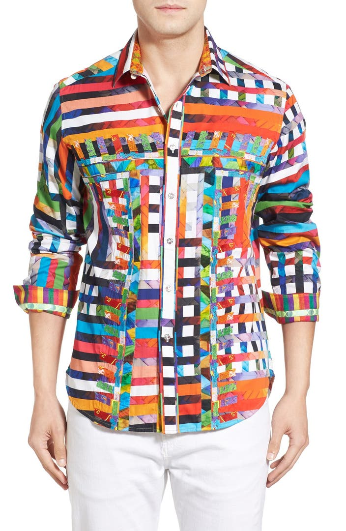 Robert Graham 39 Valley Of The Kings Limited Edition 39 Classic Fit Print Sport Shirt Nordstrom
