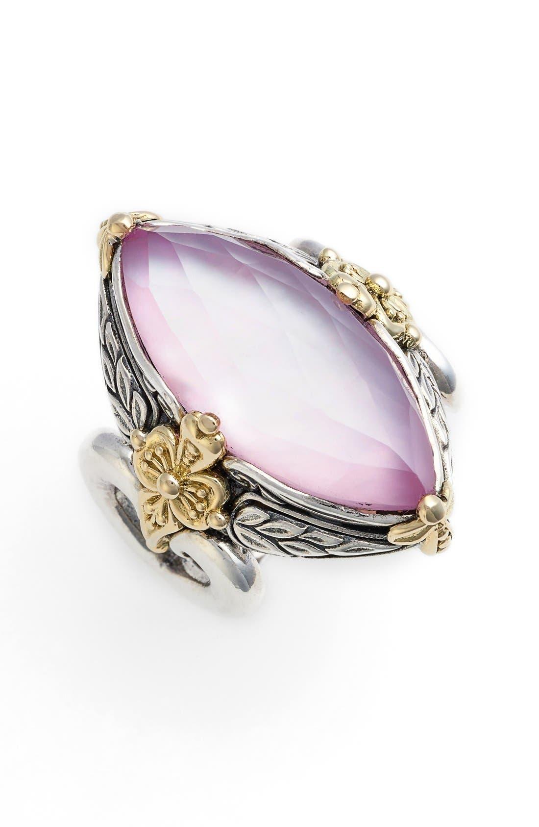 Konstantino 'Iliada' Marquise Doublet Ring