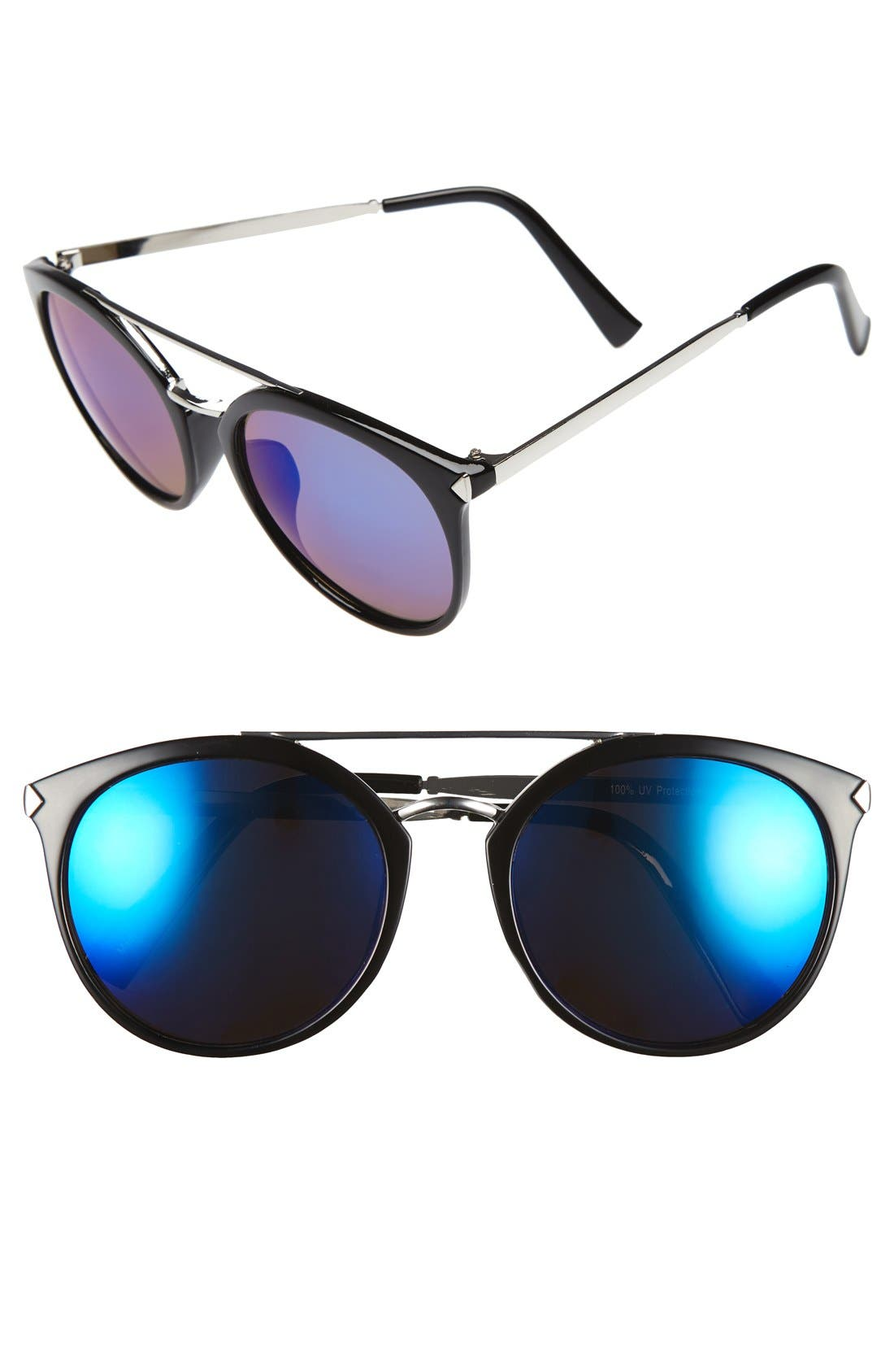 Main Image - BP. 55mm Mirrored Sunglasses