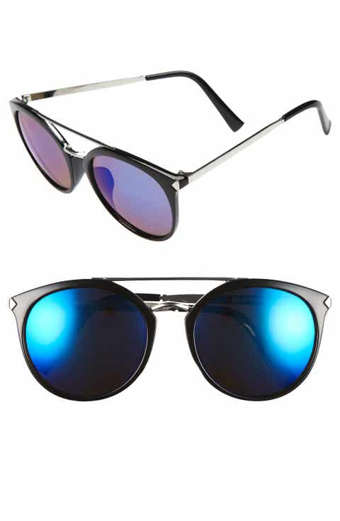 BP. 55mm Mirrored Sunglasses