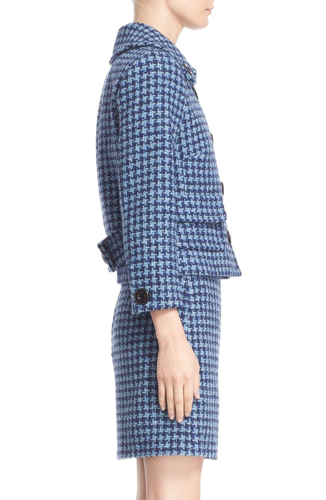 Alternate Image 5  - Michael Kors Houndstooth Tweed Jacket