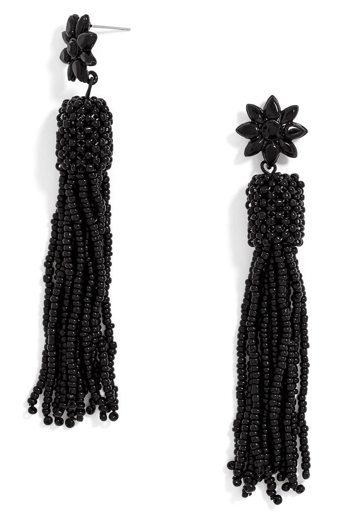 Alternate Image 1 Selected - BaubleBar 'Rooney' Tassel Drop Earrings