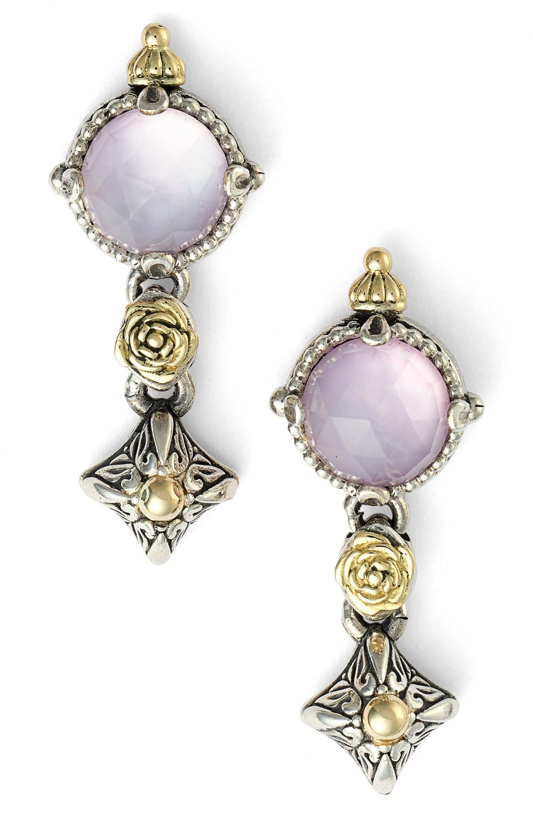 Konstantino 'Iliada' Double Drop Earrings