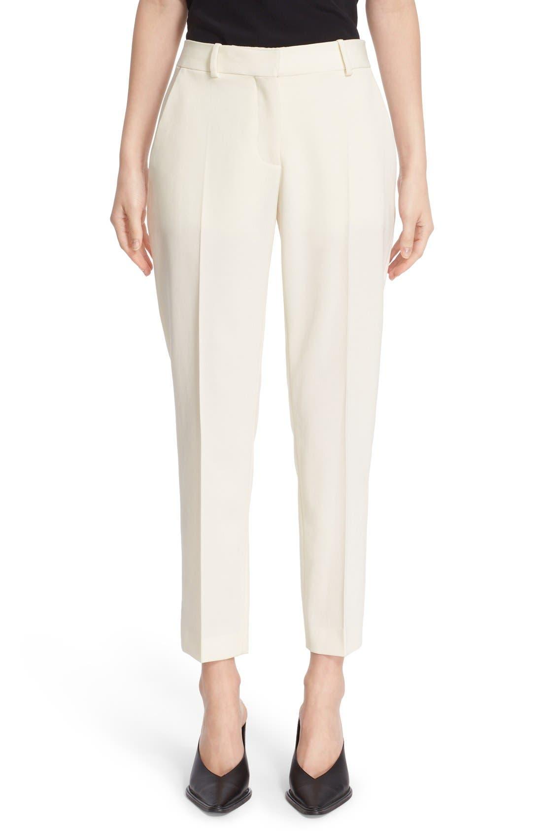 Alternate Image 1 Selected - Stella McCartney 'Octavia' Crop Wool Trousers