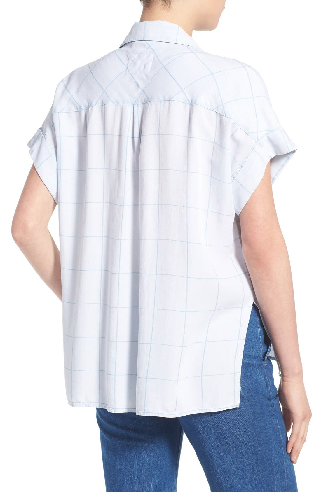 Alternate Image 2  - Rails 'Whitney' Windowpane Print Top